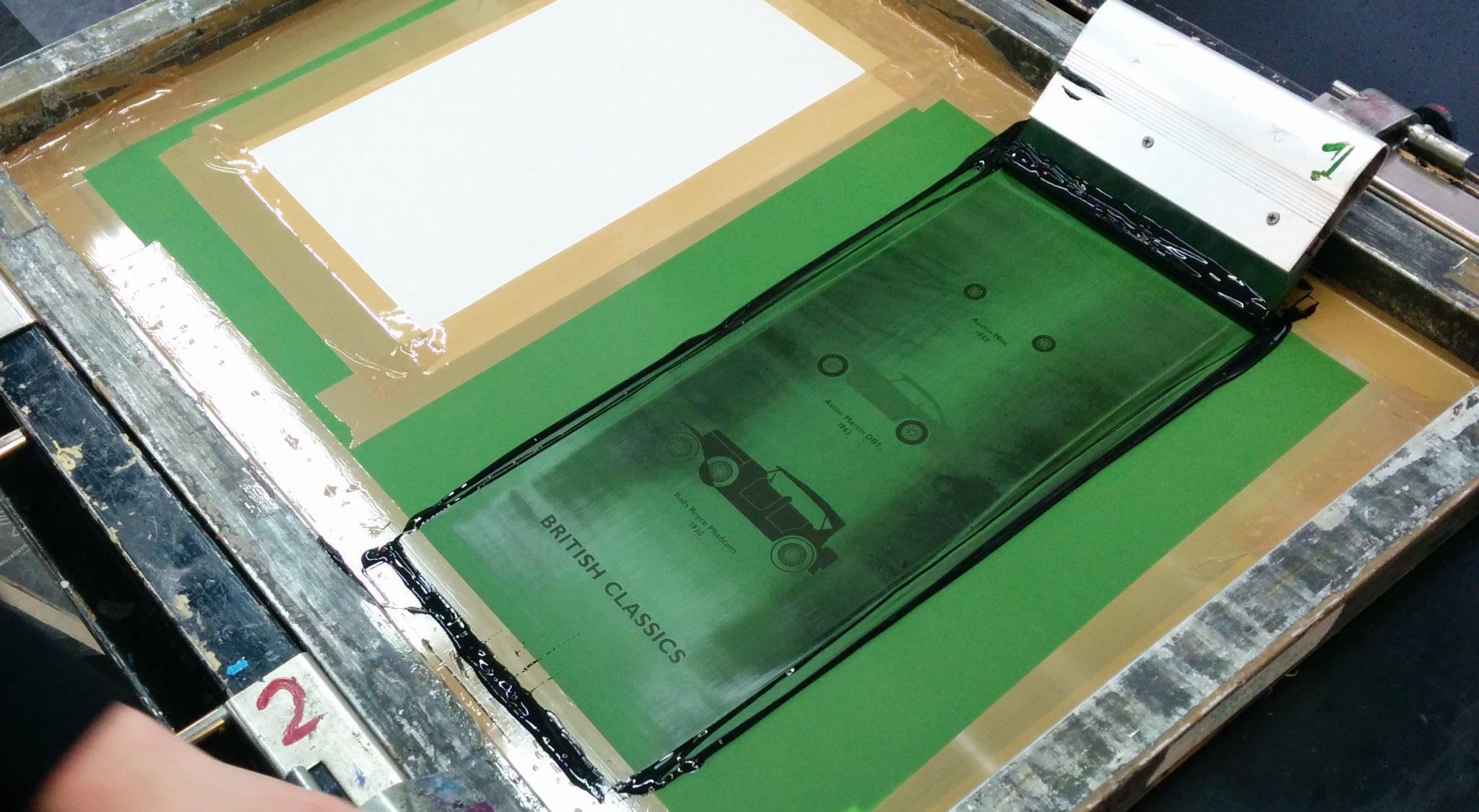 Screen Printing Adventures