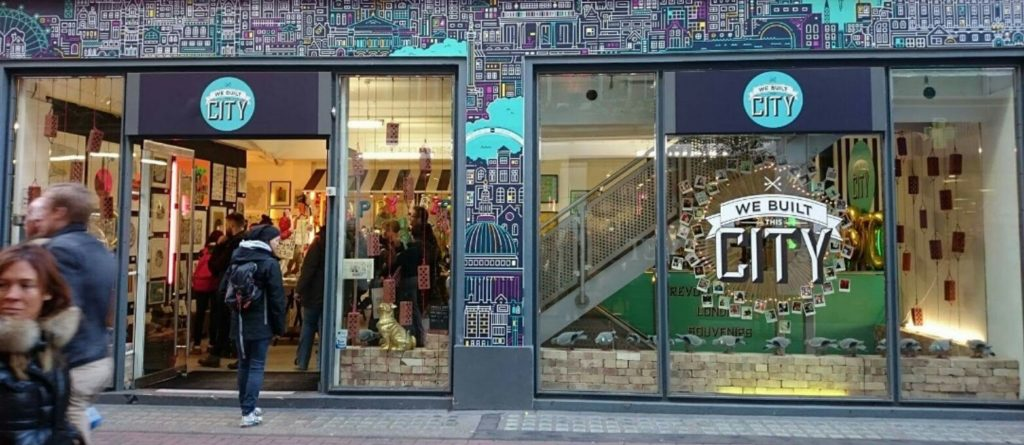 We Built This City, London - Rear View Prints