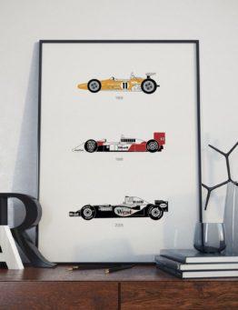 McLaren Print Letters Lifestyle 1 – Rear View Prints