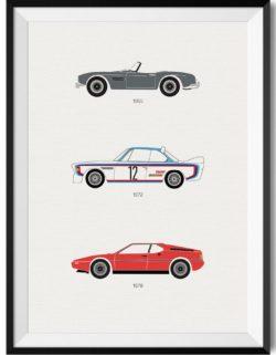 BMW Car Print - Rear View Prints