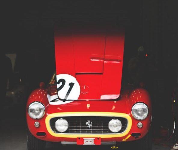 Auto Art and Car Prints - Rear View Prints