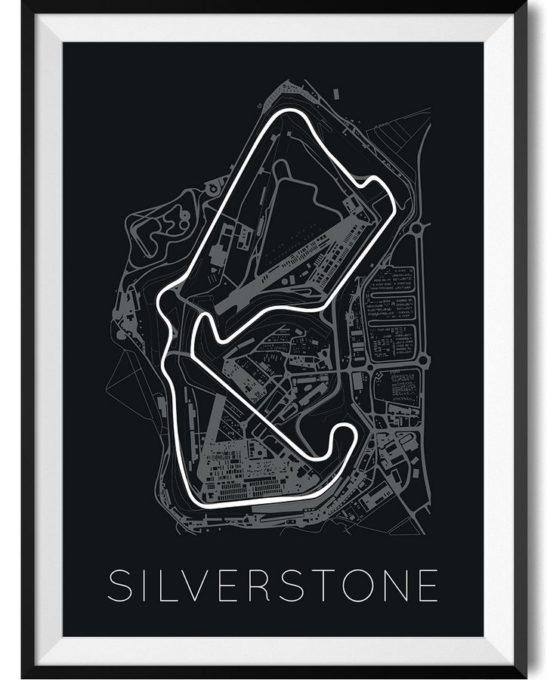 F1 Silverstone Print