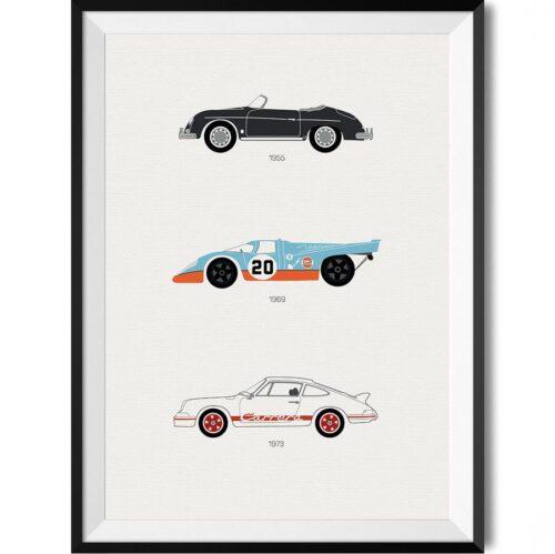 Porsche Car Print