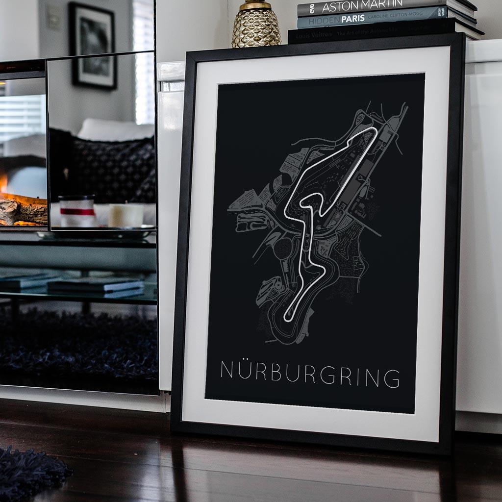Titan Of Tracks Nurburgring Poster