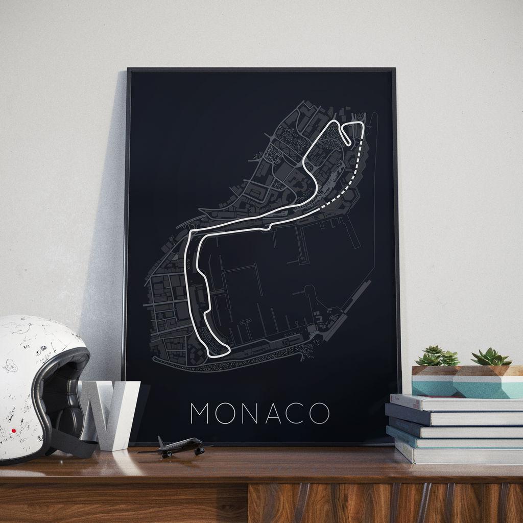 Monaco race track