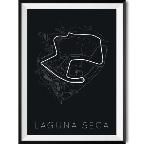 Laguna Seca Mazda Raceway - Rear View Prints