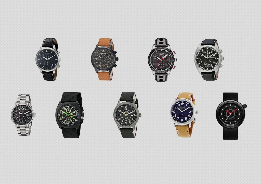 Cars and Watches, 9 Affordable Timepieces You Can Buy Right Now - Rear View Prints 1