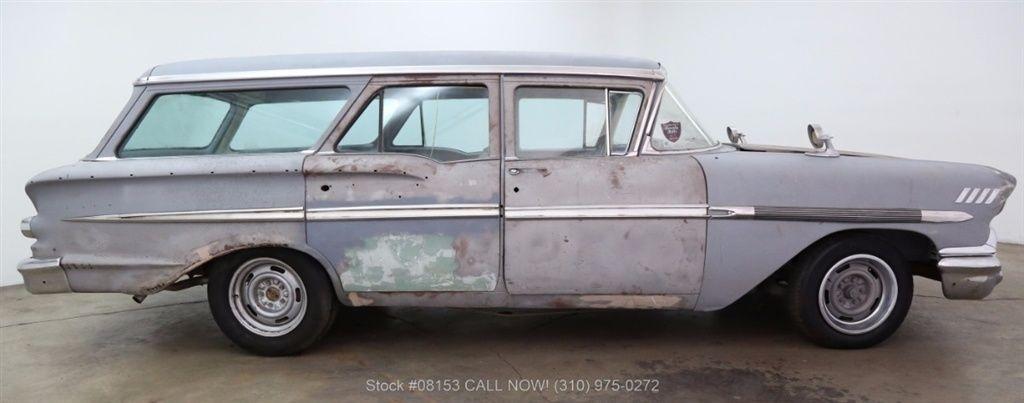 1958 Chevrolet Nomad - Rear View Prints