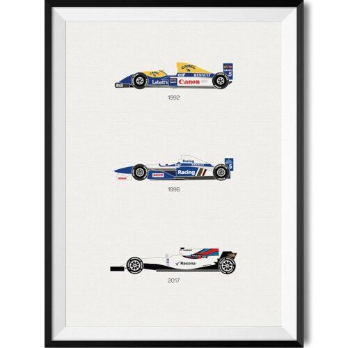 Williams Print - Rear View Prints