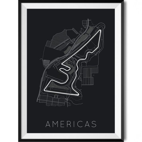 Circuit of the Americas Formula 1 - Rear View Prints