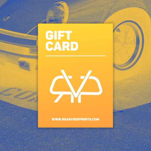 Gift Card 2 - Rear View Prints