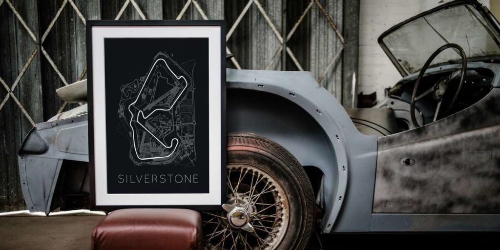 Car Art Car Print Car Poster F1 Poster - Rear View Prints